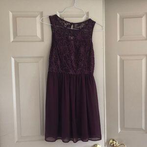 Francesca's Collections Dresses - Dark purple formal dress!
